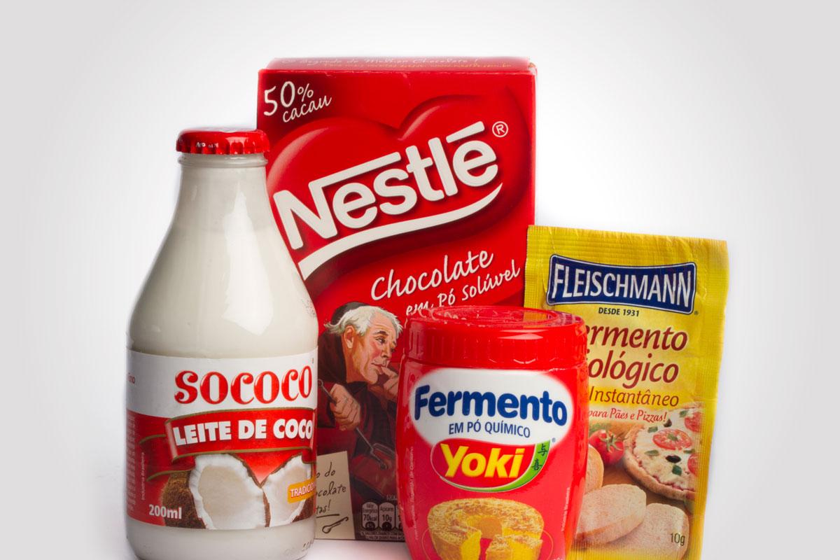 Produtos de confeitaria