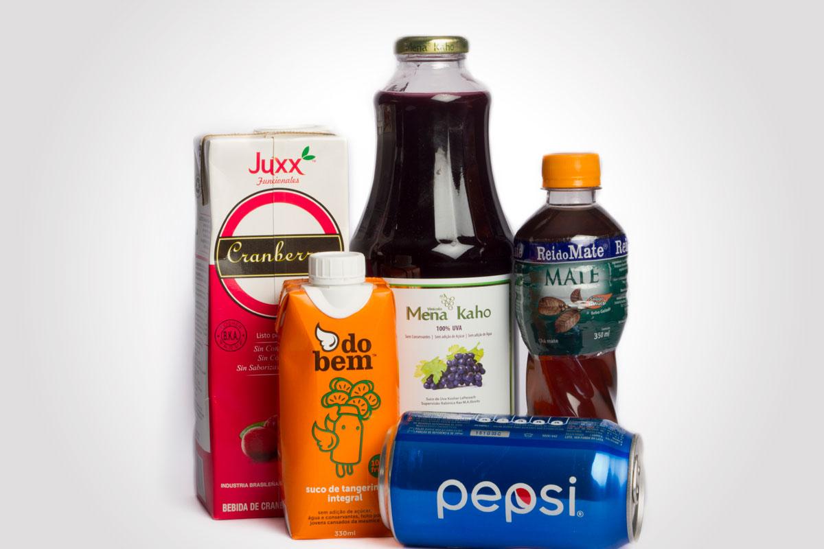 Sucos e refrigerantes
