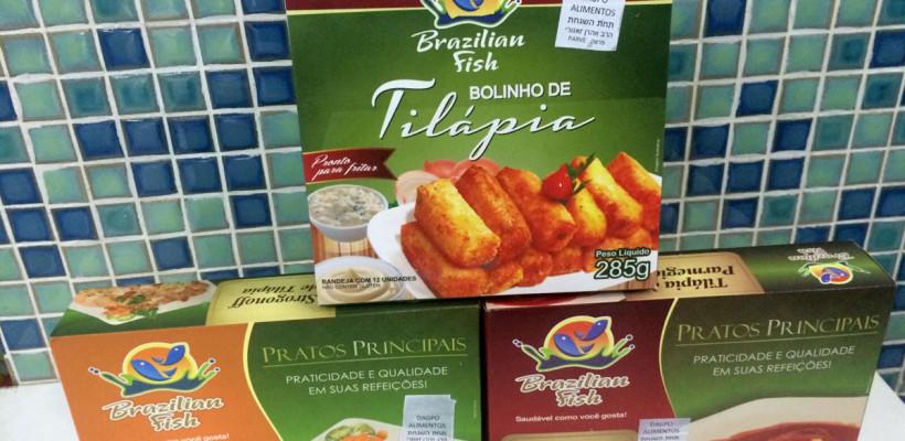 Novos produtos na All Kosher: Tilápia da Brazilian Fish