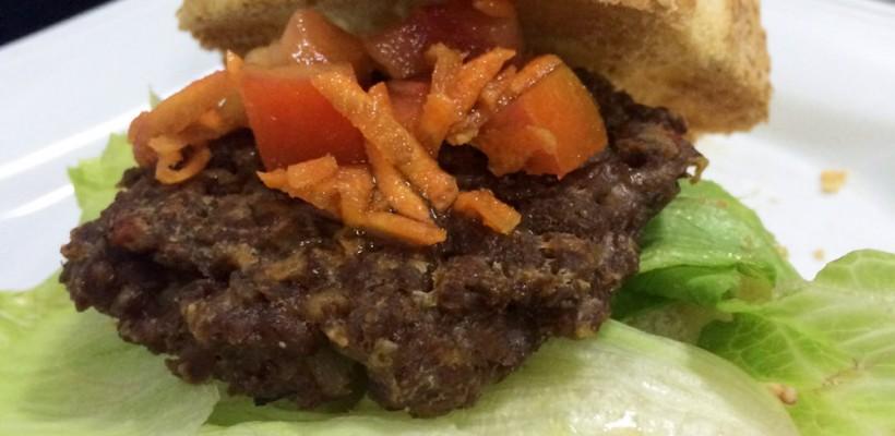 Receita da Semana: Hambúrguer de Soja